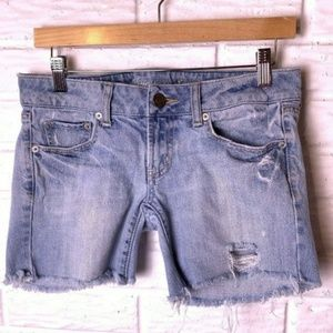 😊 American Eagle Outfitters Jean Shorts Size 0